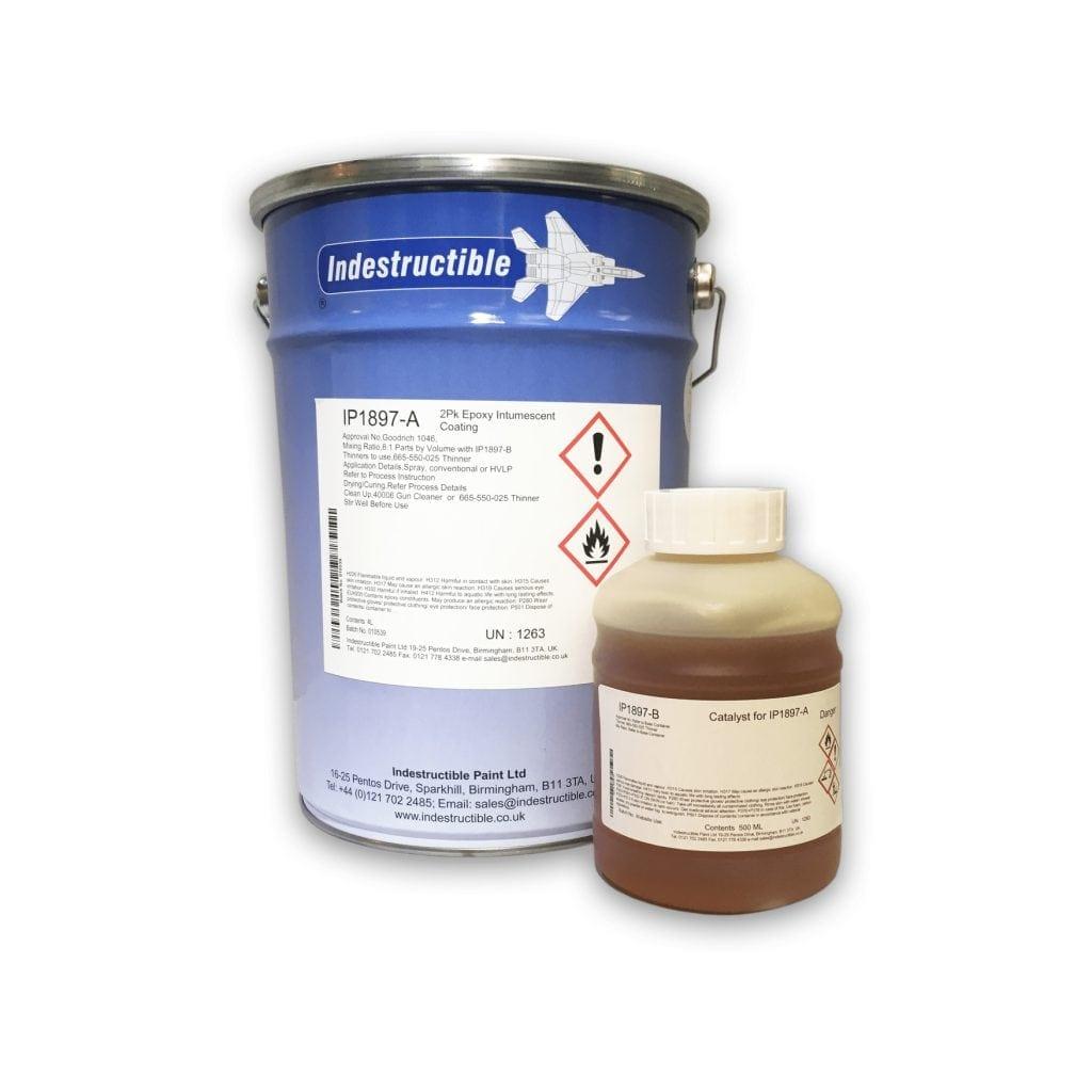 intumescent fire-retardant paint