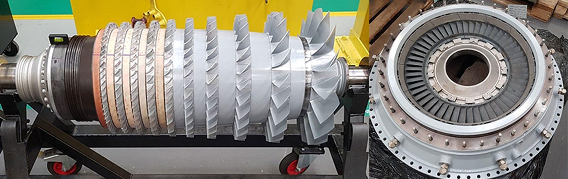 Engine coatings equipment