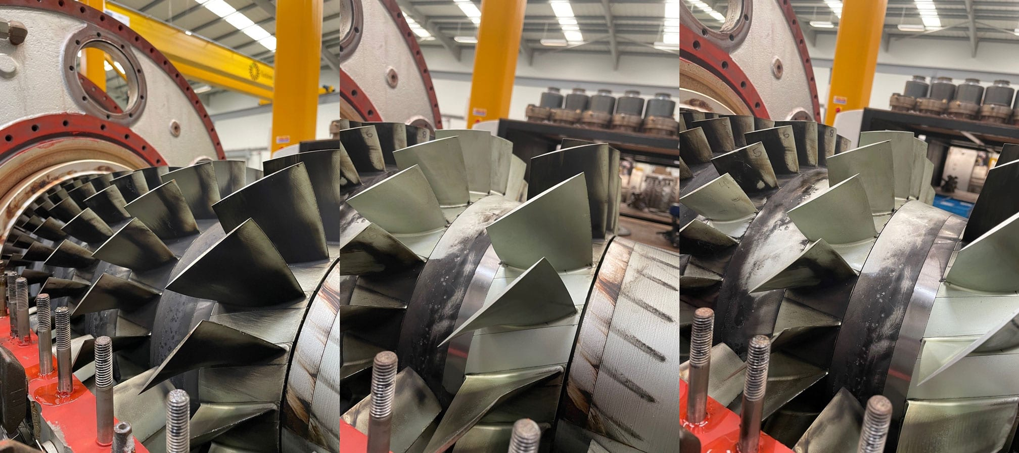 Typhoon Engine for Power Generation coated in Indestructible Paint's Chrome Free CF600 Protective Coating